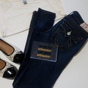 True Religion Julie Skinny Jeans sz 27